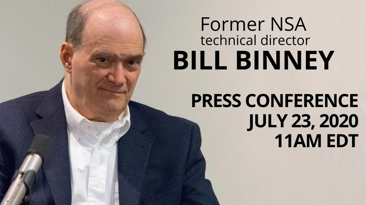 Bill Binney's press conference