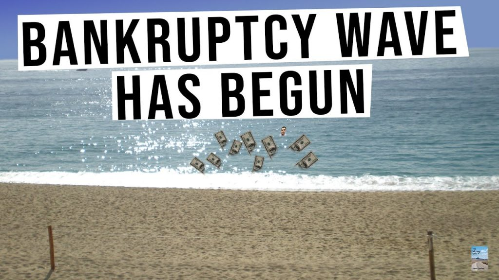 Bankruptcy Wave Has Begun and Many More Are Coming! Mispriced Markets End Badly