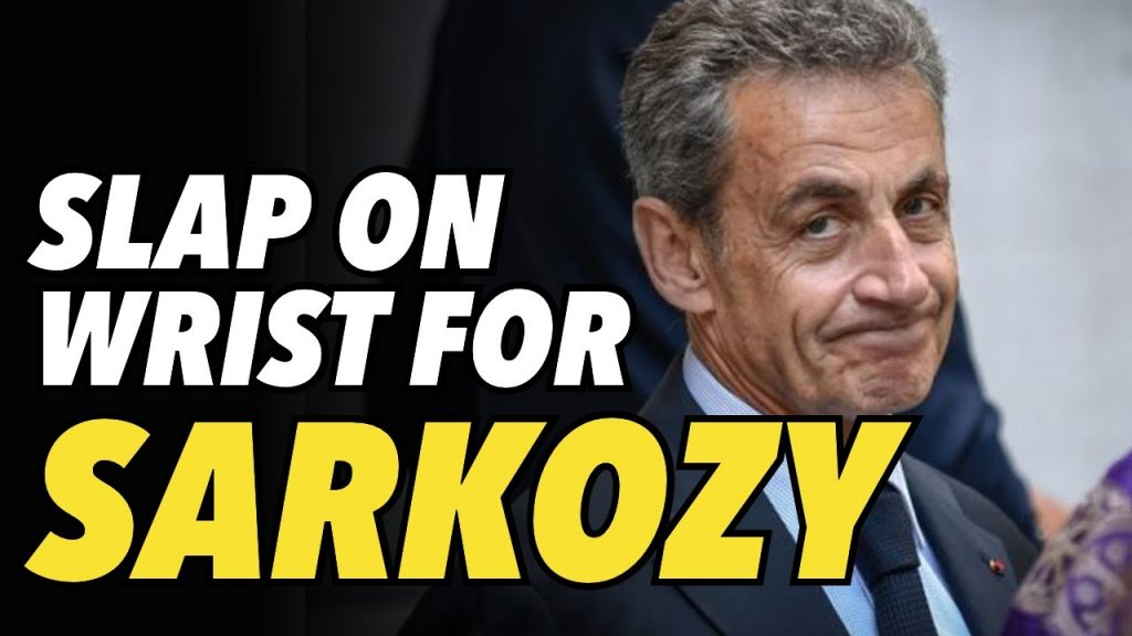 Sarkozy sentenced to prison, but no time will be served in prison