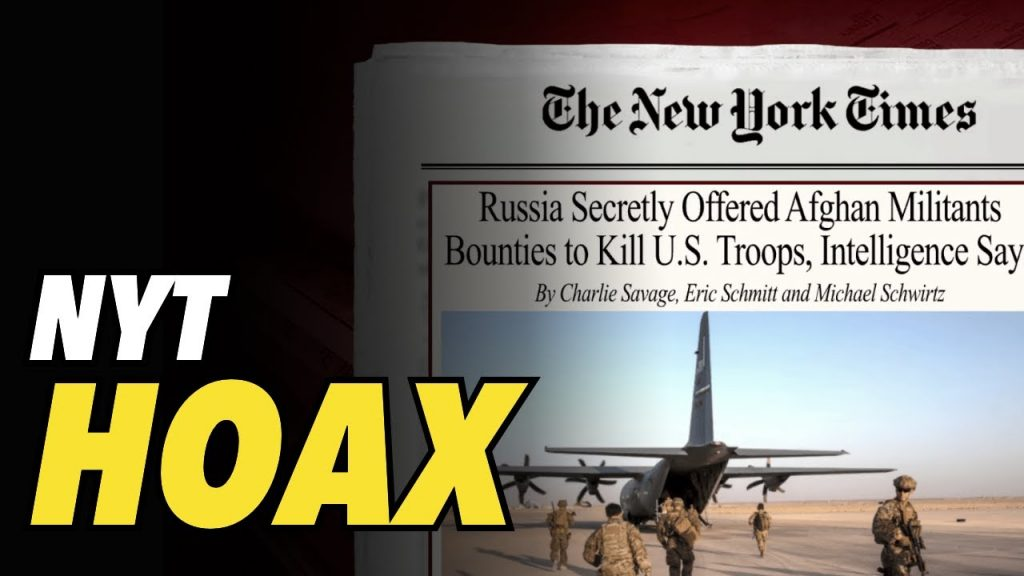 SMS FREEDOM and NYT Afghan bounty hoax