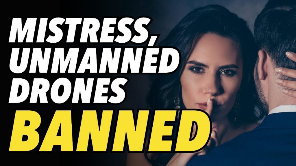'Mistress', 'illegal alien' & 'unmanned' drones are latest words to be banned