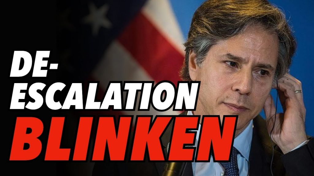 Blinken Again Calls For De-Escalation with Russia, Talks of US-Russia Summit Meeting As Pending