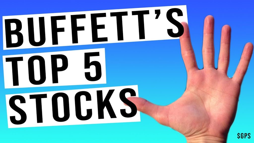 THESE Are Warren Buffett's 5 Biggest Stocks! Watch As He Calls For Heavy Inflation!
