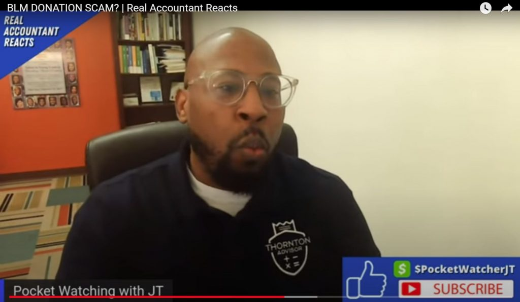 An Accountant Shreds Patrisse Cullors
