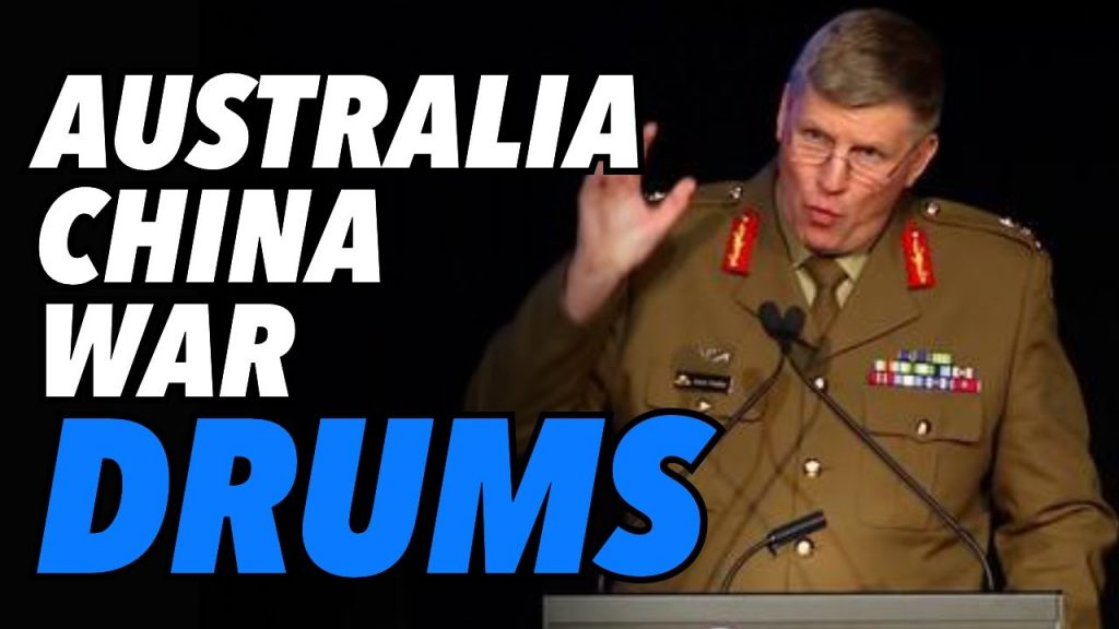 Australia – China war drums. General's leaked briefing warns of conflict ahead