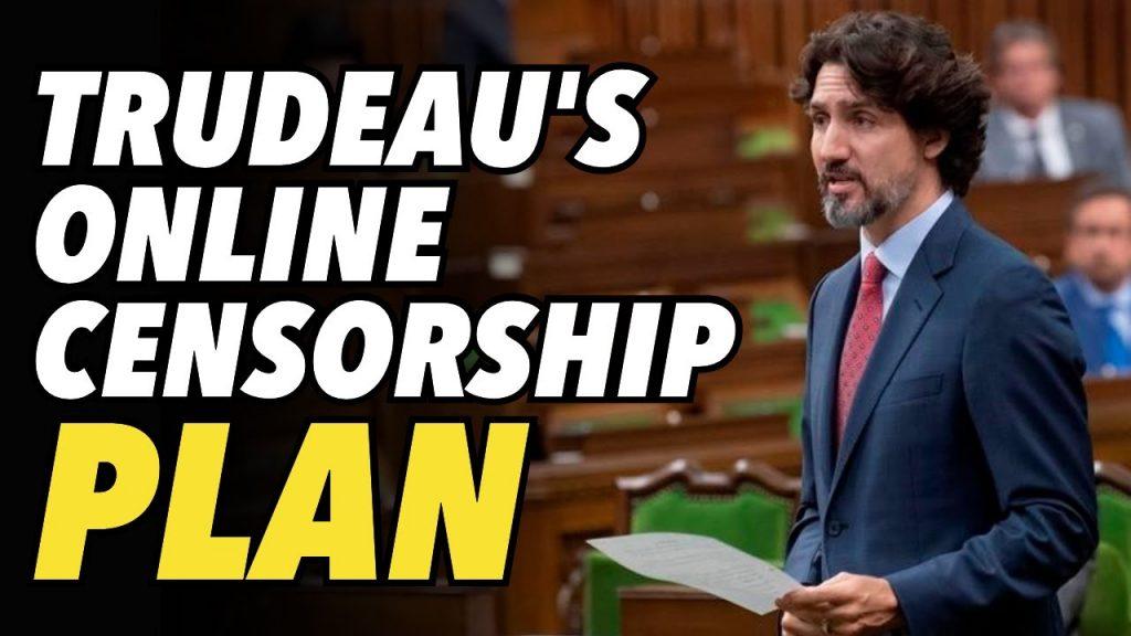 """Trudeau calls critics of his Internet Censorship plan """"TIN FOIL HATS"""""""