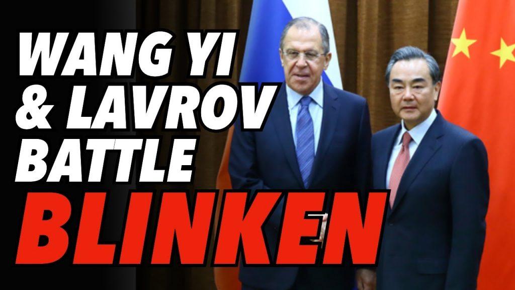 International Law v 'Rules Based Order'; Wang Yi and Lavrov Battle Blinken at UN