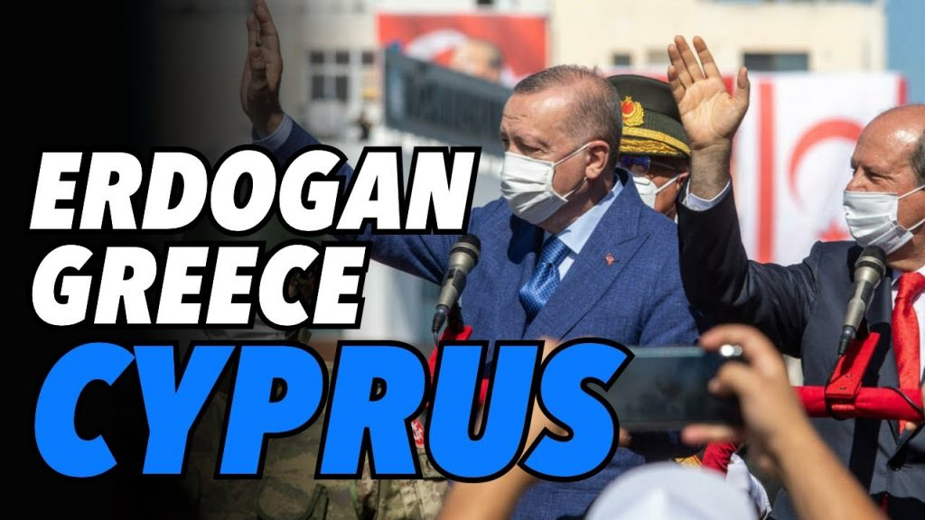 Erdogan visits occupied Cyprus, presses for two state solution