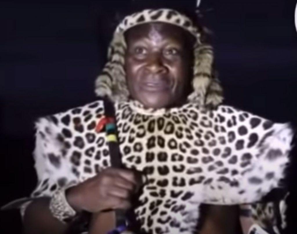 A Zulu Chief Reminisces