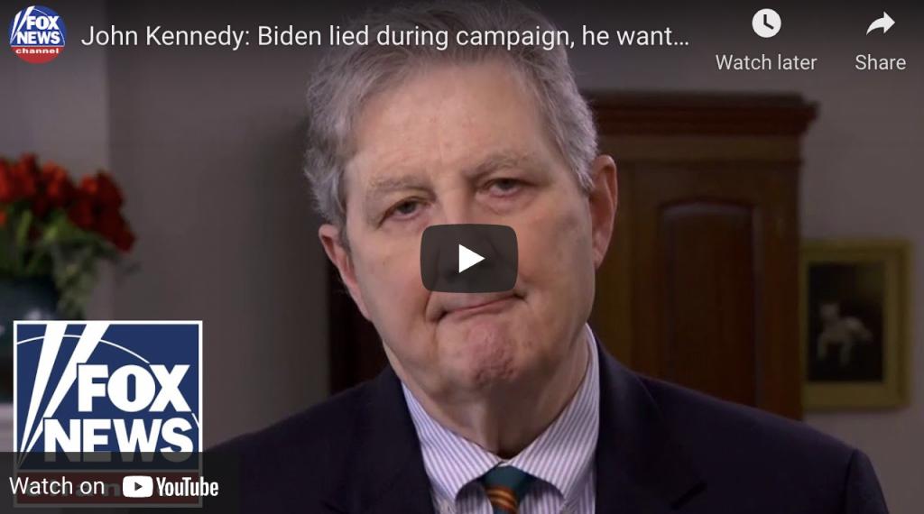 Senator John Kennedy puts it straight – Biden wants open borders [Video]